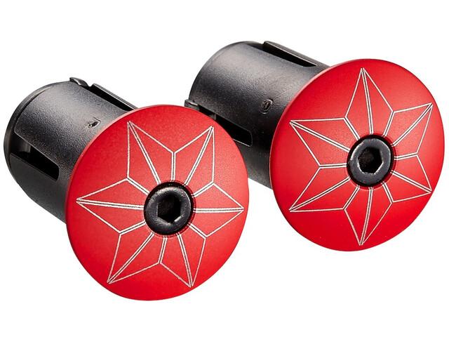 Supacaz Star Plugz rød